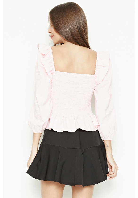 P&Co Essential Long Sleeve Blouse Ladies [Not valid for Exchange]