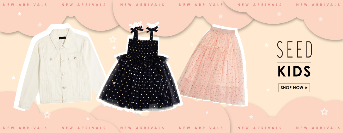 SEED | NEW ARRIVAL